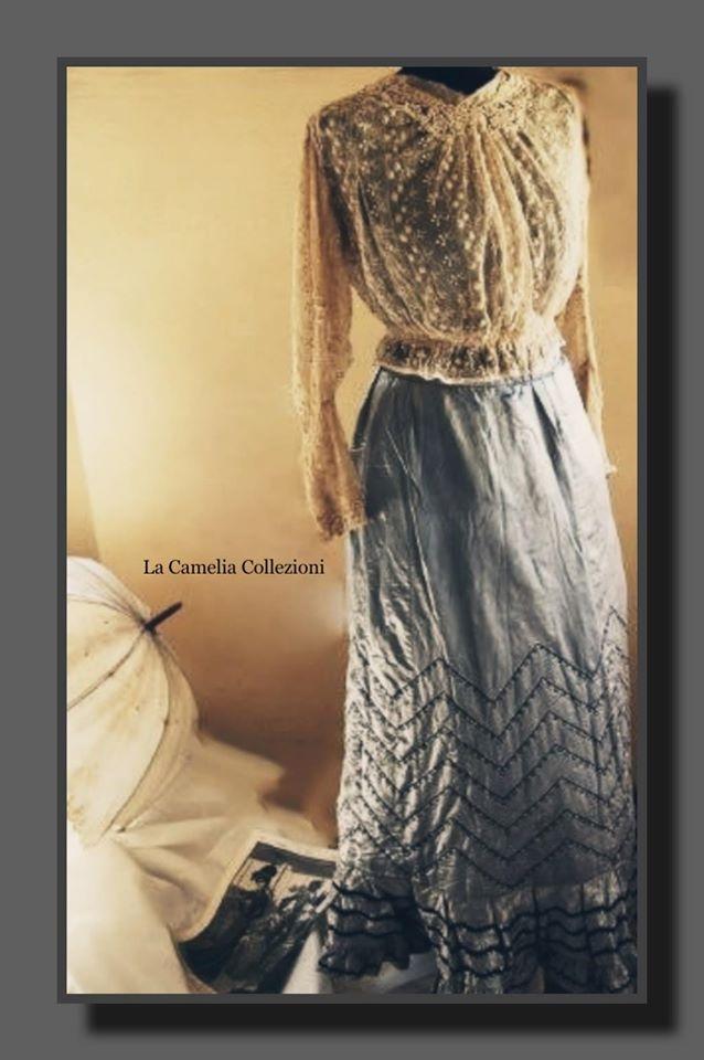 moda secolo 900 - abito da passeggio - la camelia collezioni